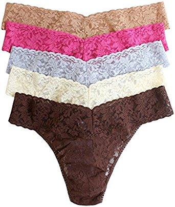 Hanky Panky Women's Low Rise Thong 5 Pack