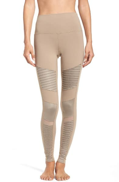 High Waist Moto Leggings by Alo
