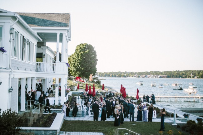 Skaneateles Country Club and lake view