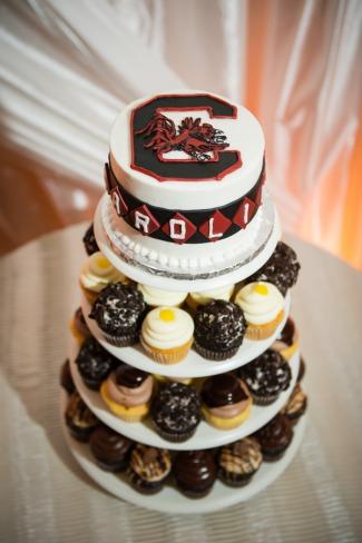 cupcake cake tiers