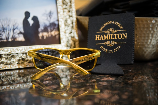 custom gold sunglasses