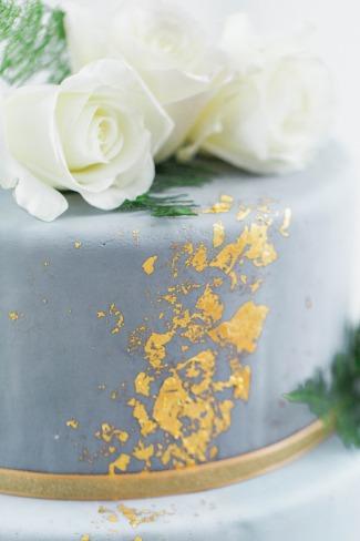 Greenery Loft Wedding Inspiration With Slate Blue