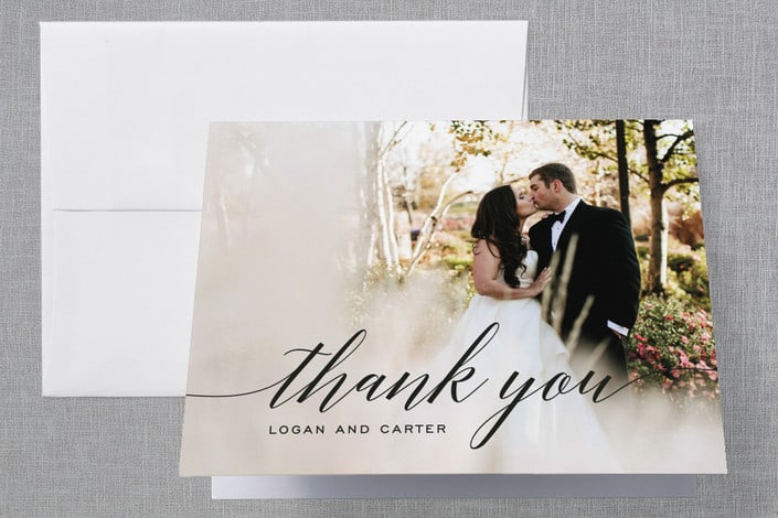 minted's Someone Like You wedding thank you cards