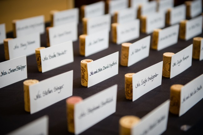 wine cork nameholders