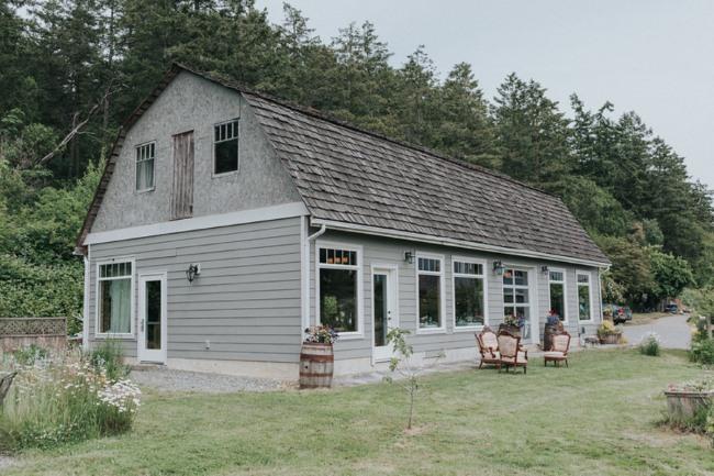 Kildara Farms barn in Victoria BC