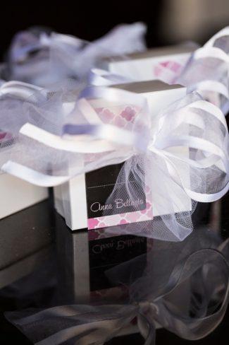 bow wrapped Anna Bellagio box