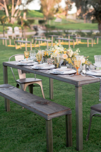 outdoor table setting at Karlan Hotel