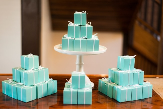 small tiffany blue boxes