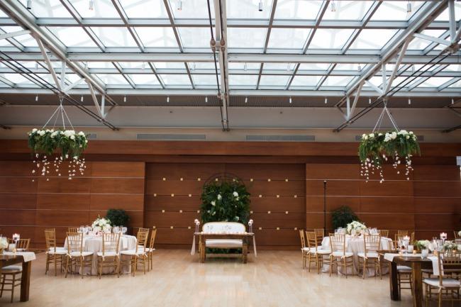 wedding reception at Kimmel Center