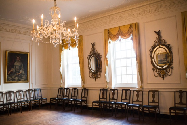 ball room at Powel House Philadelphia