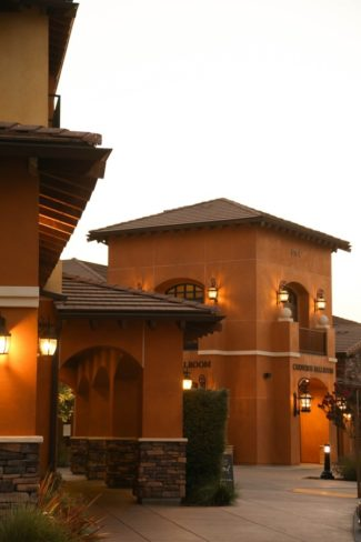 building at Meritage Resort