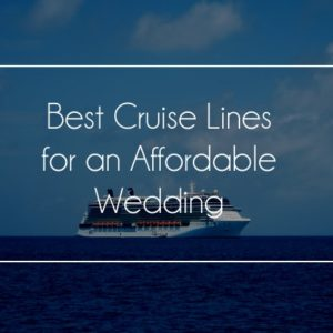 best cruise lines for wedding