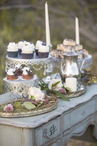 desserts on table