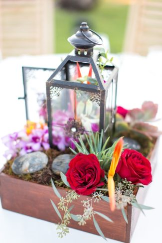 lantern table decor