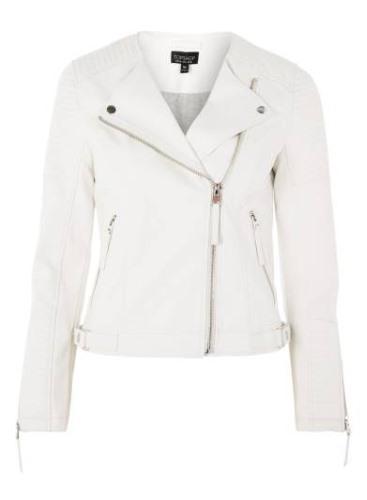 luna faux leather biker jacket