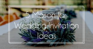 mason jar wedding invite feature