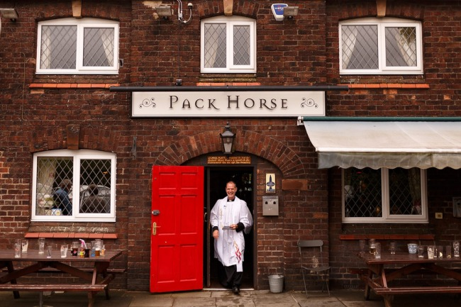Pack Horse pub in Warrington