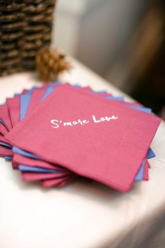 S'more love napkins