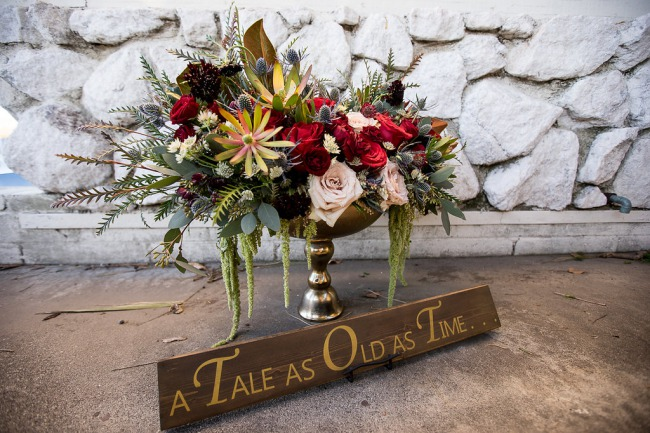 a tale as old as time wood sign