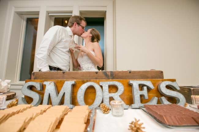 giant S'mores sign