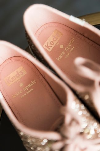 interior of Keds Kate Spade shoes