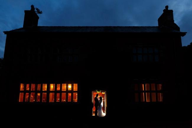 light Oaks hall at dusk