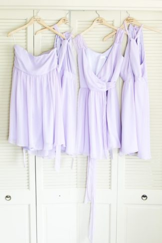 light lavender bridesmaid dresses