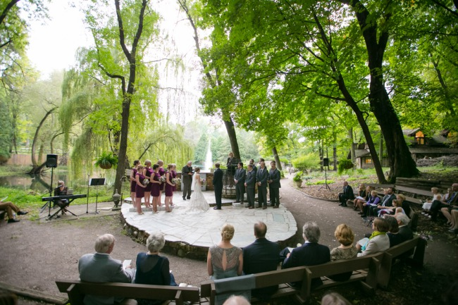 Outdoor Woods Wedding Ceremony: Seriously S'more Wedding Dessert At Wayzata Country Club