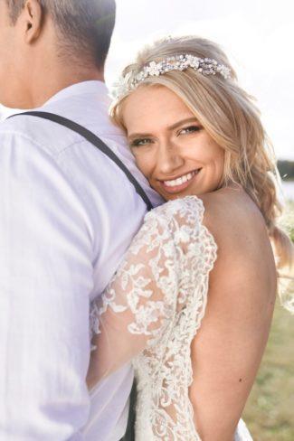 styled boho bride