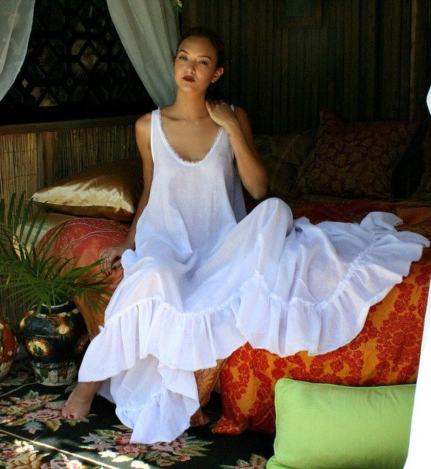 100% Cotton Nightgown for 2nd anniversary gift