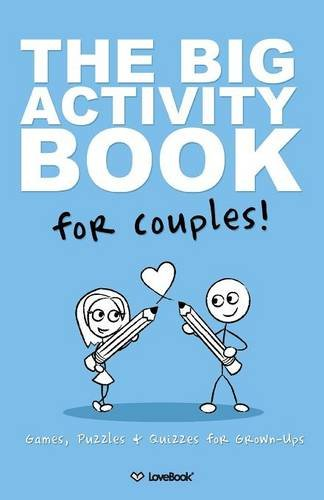 Activity book for couples 1st wedding anniversary gift