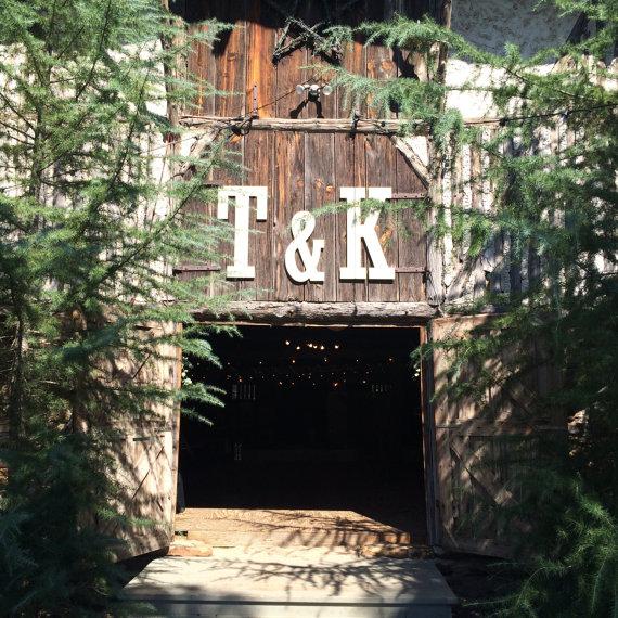 Barn Wedding Venue Letters 30 inches