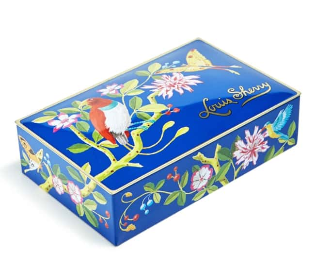 Chocolate Truffle in blue Tin anniversary gift