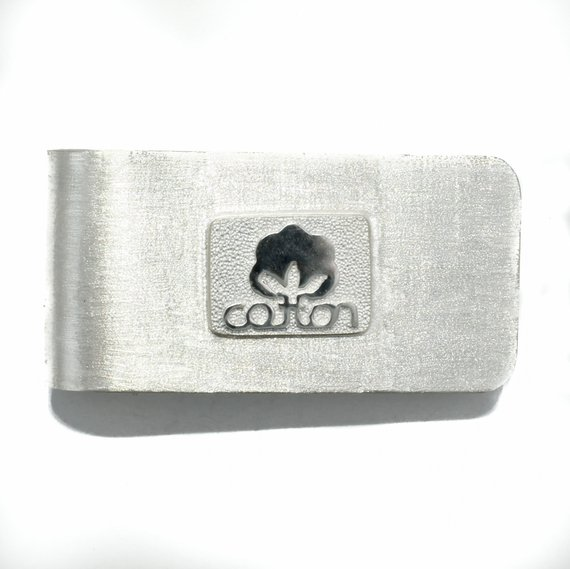 Cotton Money Clip for 2nd anniversary gift for him