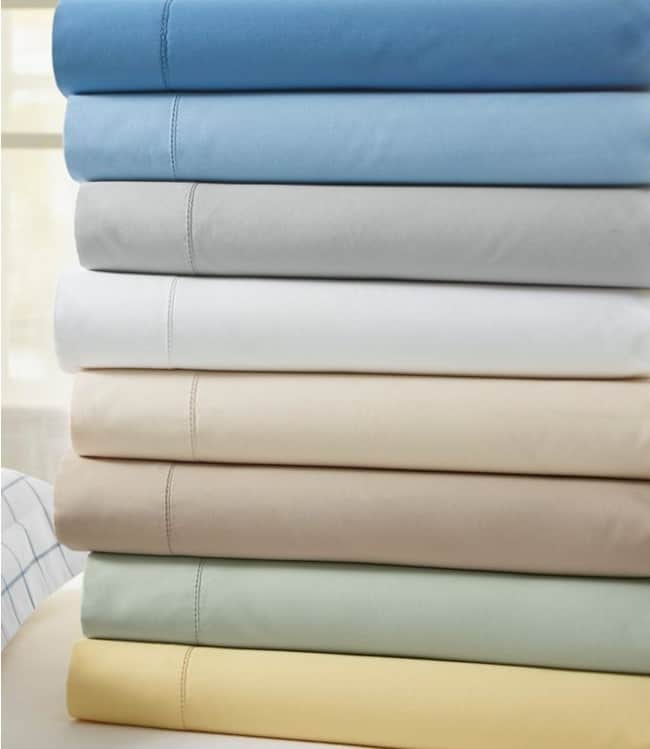 Cotton Percale Sheet Set for 2nd anniversary