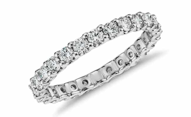 Diamond Eternity Ring 10th anniversary gift her her