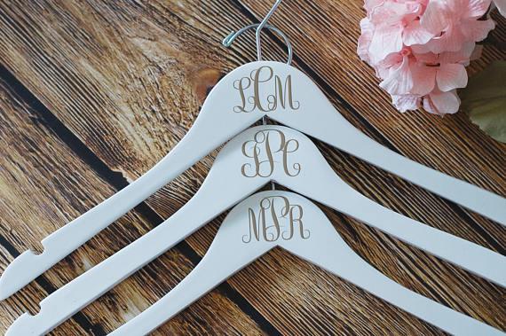 Monogram Dress Hanger