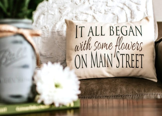 Personalized pillow for cotton anniversary gift for him & 16 Romantic u0026 Practical Cotton Anniversary Gifts for Him u0026 Her