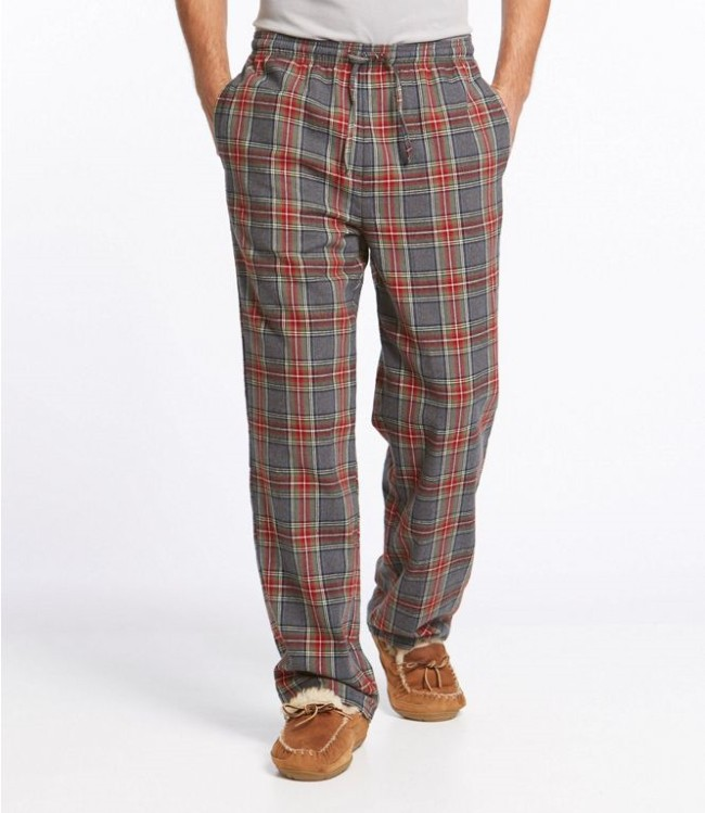 Plaid Flannel pajamas for 2nd anniversary gift for him