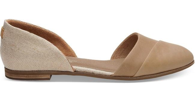 Toms Metallic Woven Women's Jutti D'Orsay Bridal shoe