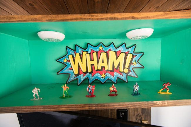 WHAM words with figurines