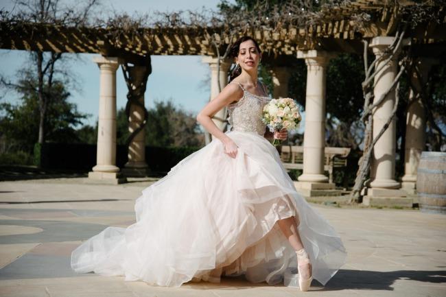 ballet inspired romance dancer outside