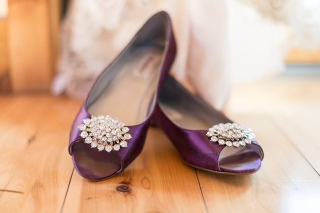 purple peeptoes with crystals