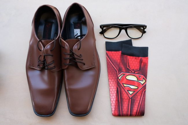 superman socks with dress shoes