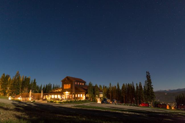 Breckenridge venue at night
