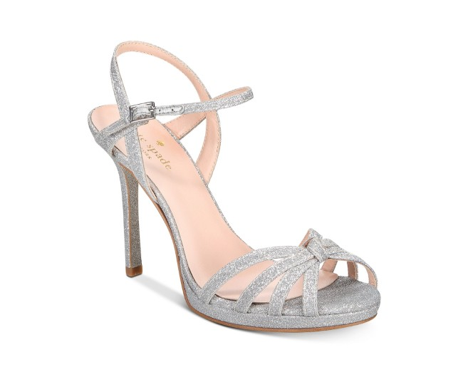 Kate Spade Florence Bridal Strappy Evening Sandals