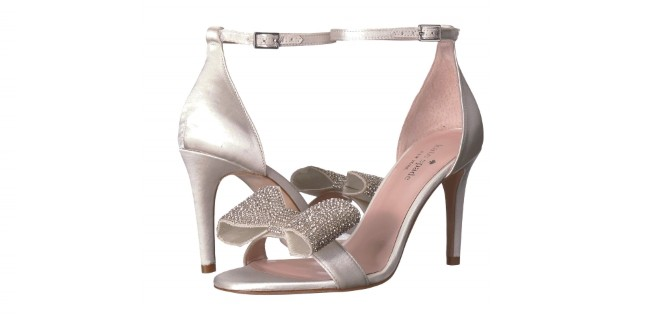 Kate Spade Gweneth Crystal Bow Ankle Strap heels