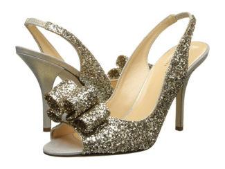 Kate Spade Sparkly Charm Heels