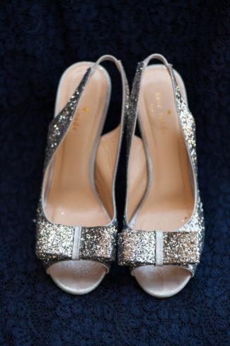 Kate Spade Sparkly Gold Peep Toe Heels.jpg
