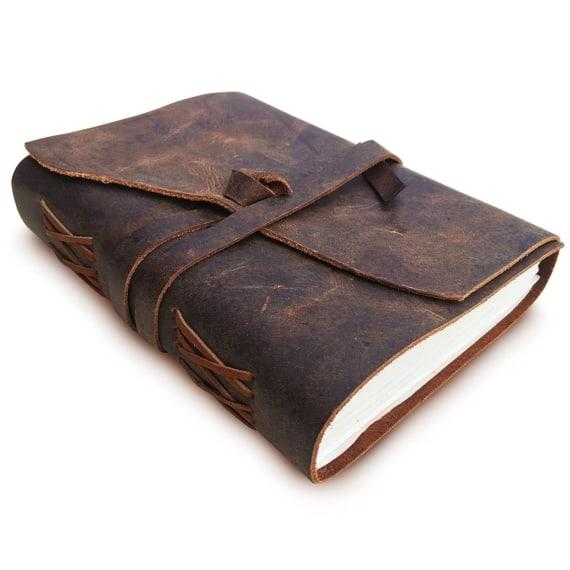 8 Leather Weekender Travel Bag